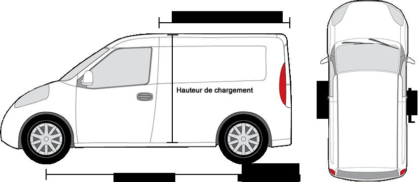 2 Déflecteurs d/'air G3 pour Peugeot Boxer depuis 2006